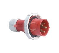 Вилка переносная YHT 0152 3Р+РЕ+N 16А 380В IP67