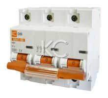 Автоматический выключатель ВА 47-100 ( 63А 3р D)