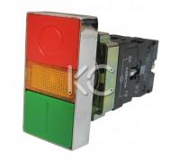 Кнопка управления LAY5-BW8365 Пуск-стоп  1з+1р
