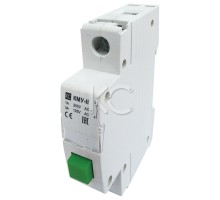 Кнопка управления модульная КМУ-11, 1НО, AC230В (зеленая, с фи ацией)