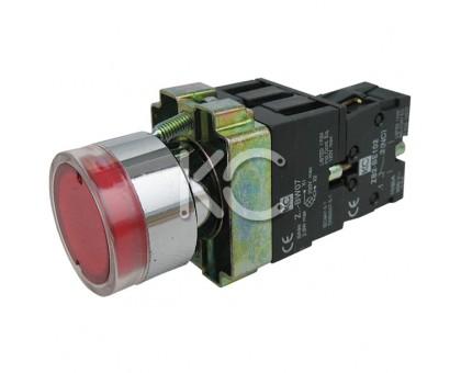 Кнопка с подсветкой LAY5-BW3471 (К)
