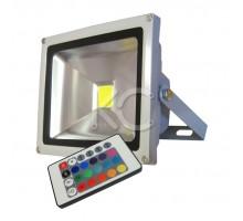 Прожектор LED TV-074-RGB-20W-IP65