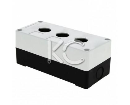 Корпус КП 103 для кнопок 3 места (белый)