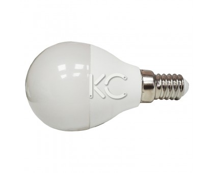 Лампа светодиодная G45-7W-3000K-E14