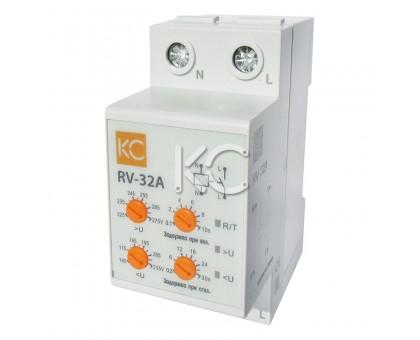 Реле напряжения (сквозное подкл.) RV-32A