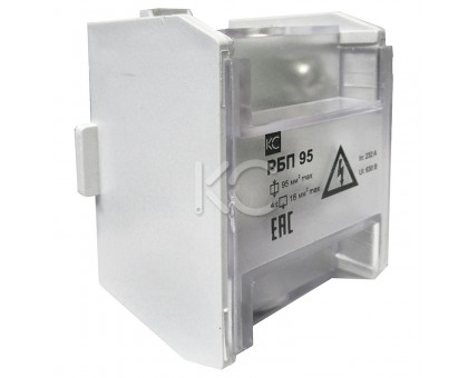 Блок распределительный РБП 95 (1х95-4х16 мм2) 232/100А