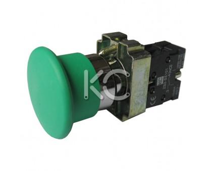 Кнопка LAY5-BC31 (Грибок зеленый, 1р)