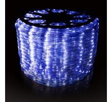 Лента светодиодная SMD-LED (дюралайт LED-Raund-3W-100M-220V) синий