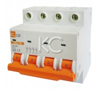 Автоматический выключатель ВА 47-39 (5А 4р С)