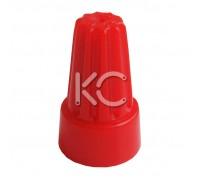Зажим изолирующий СИЗ-5 (4,0-20,0 мм2) (уп./100шт) красный