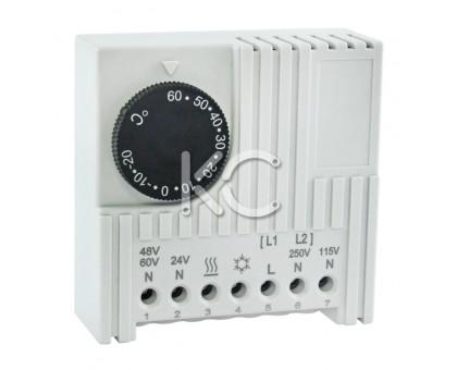 Термостат NO/NC (охлаждение/обогрев) на DIN-рейку  NTL 8000А/8000В-230В-10А-IP20