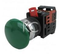Кнопка АЕА-22 (Грибок зеленый,  1з+1р)
