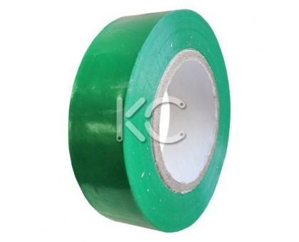 Изолента ПХВ 0,13х19ммх20м зеленая