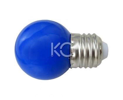 Лампа светодиодная G45-0,3W/B-E27