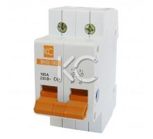 Выключатель нагрузки ВН32-100  (100А 2Р)