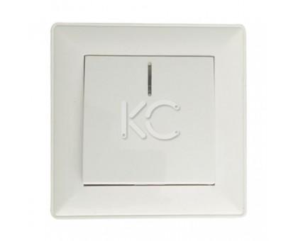 Выключатель 1-клавишный СП с индикатором, 10А, белый Дабрабыт