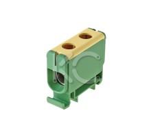 Клемма вводная силовая КВС 16-50 желто-зеленая