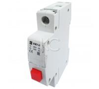 Кнопка управления модульная КМУ-11, 1НО, AC230В (красная, с фи ацией)