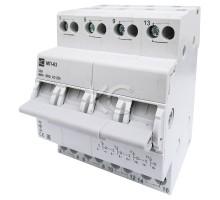 Модульный переключатель МП-63 трехпозиционный 4P 32А