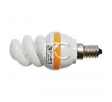 Лампа энергосберегающая  9 Вт E14 YPZ38-QS 220В 2700К