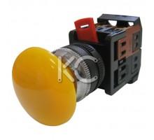 Кнопка АЕА-22 (Грибок желтый,  1з+1р)