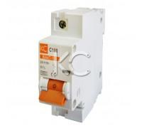 Автоматический выключатель ВА 47-100 (100А 1р С)