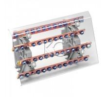 Блок распределительный на DIN-рейку РБ (шинный)-250А