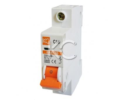 Автоматический выключатель ВА 47-39 (16А 1р С)