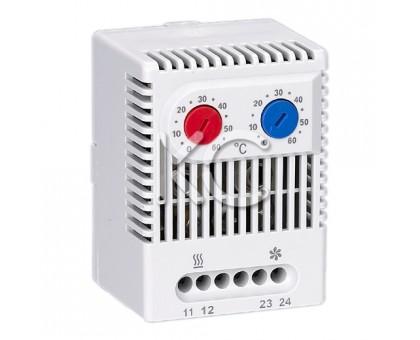 Термостат (обогрев и охлаждение) на DIN-рейку ZR 011-10А-230В-IP20
