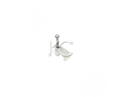 Пластиковые скобы для кабеля 6 (плоские) (50)