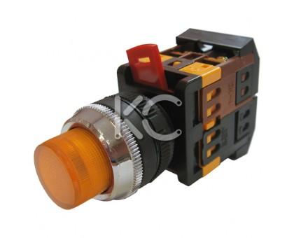 Кнопка с подсветкой АВЛФП-22 (Ж)