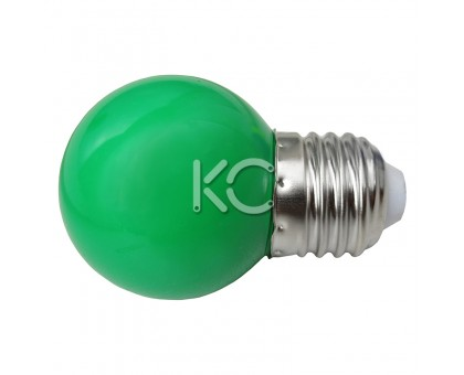 Лампа светодиодная G45-0,3W/G-E27