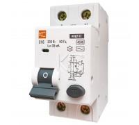 Дифференциальный автомат АВДТ-32 2р С 32А/30мА