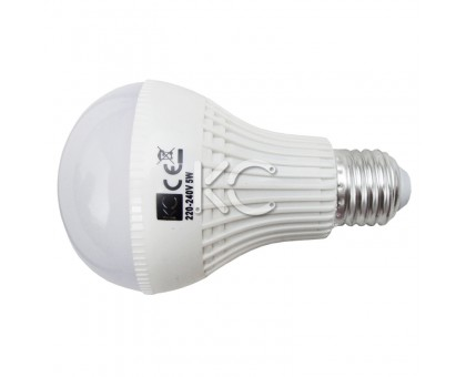 Лампа светодиодная (аварийная) А70-5W-3000K-430Lm-E27
