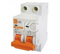 Автоматический выключатель ВА 47-39 (16А 2р С)