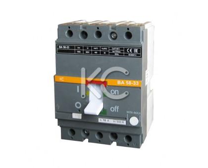 Автоматический выключатель ВА 58-33 (  50А 3р 35кА  )