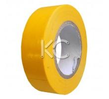 Изолента ПХВ 0,13х19ммх20м желтая