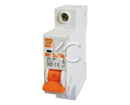 Автоматический выключатель ВА 47-39 (25А 1р В)